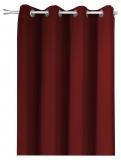 *MASSANFERTIGUNG mit ÖSEN * bis 350cm hoch*Bordeaux-Rot*
