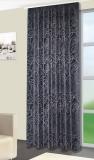 Vorhang, Jaquardgewebe, SCHWARZ bis 300 cm hoch