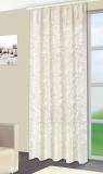 Vorhang, Jaquardgewebe, CHAMPAGNER  bis 300 cm hoch