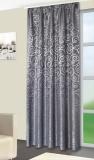 Vorhang, Jaquardgewebe, GRAU bis 300 cm hoch