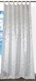 Schlaufenschal*Jacquard *NATUR-WEISS * 145x245cm(BxH)