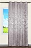 Vorhang, Schal mit Ösen * Jacquard-Gewebe 140x245 cm (BxH) * Champagner