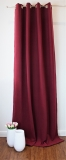 Filzvorhang mit ÖSEN * Soft-FILZ *bis 350cm lang*Türvorhang* bordeaux-rot